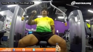 Chest Day at Anytime Fitness Sembawang