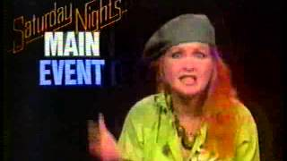 saturday night s main event 1985 nbc promo with cyndi lauper