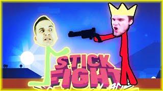 ROZWIĄZYWANIE KONFLIKTÓW POPRZEZ PRZEMOC!   Stick Fight: The Game [#4] (With: EKIPA) #BLADII