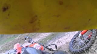 KTM EXC 450 Crash Tukival