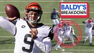 Breaking Down Joe Burrow's Top Throws vs Tennessee Titans | Baldy Breakdowns