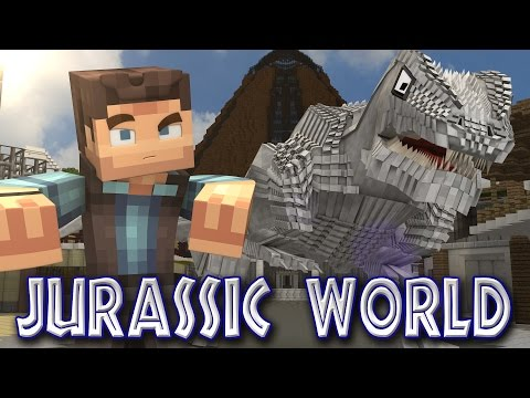 Minecraft Parody - JURASSIC WORLD! - (Minecraft Animation)