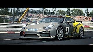 Porsche in racing simulation RaceRoom