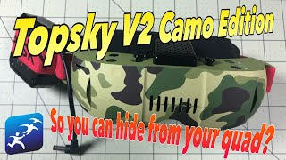 Topsky V2 Goggles CAMO EDITION! Review and opinions.  Which part should you throw away?