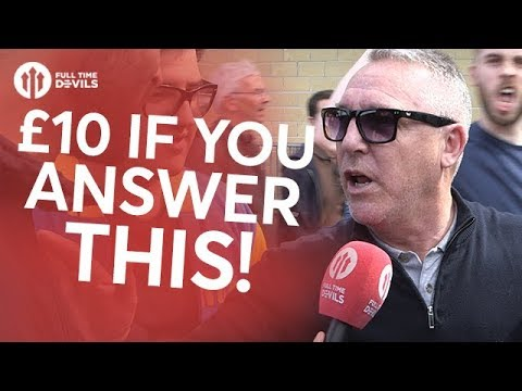 £10 If You Answer This! | Swansea City 0-4 Manchester United | FANCAM