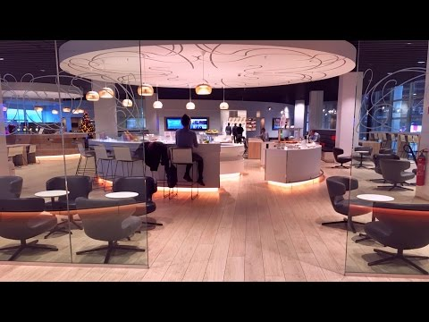 Two Brussels Airlines Business Class Lounges: THE LOFT and THE SUITE