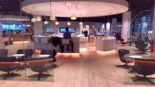 Two Brussels Airlines Business Class Lounges: THE LOFT and THE…