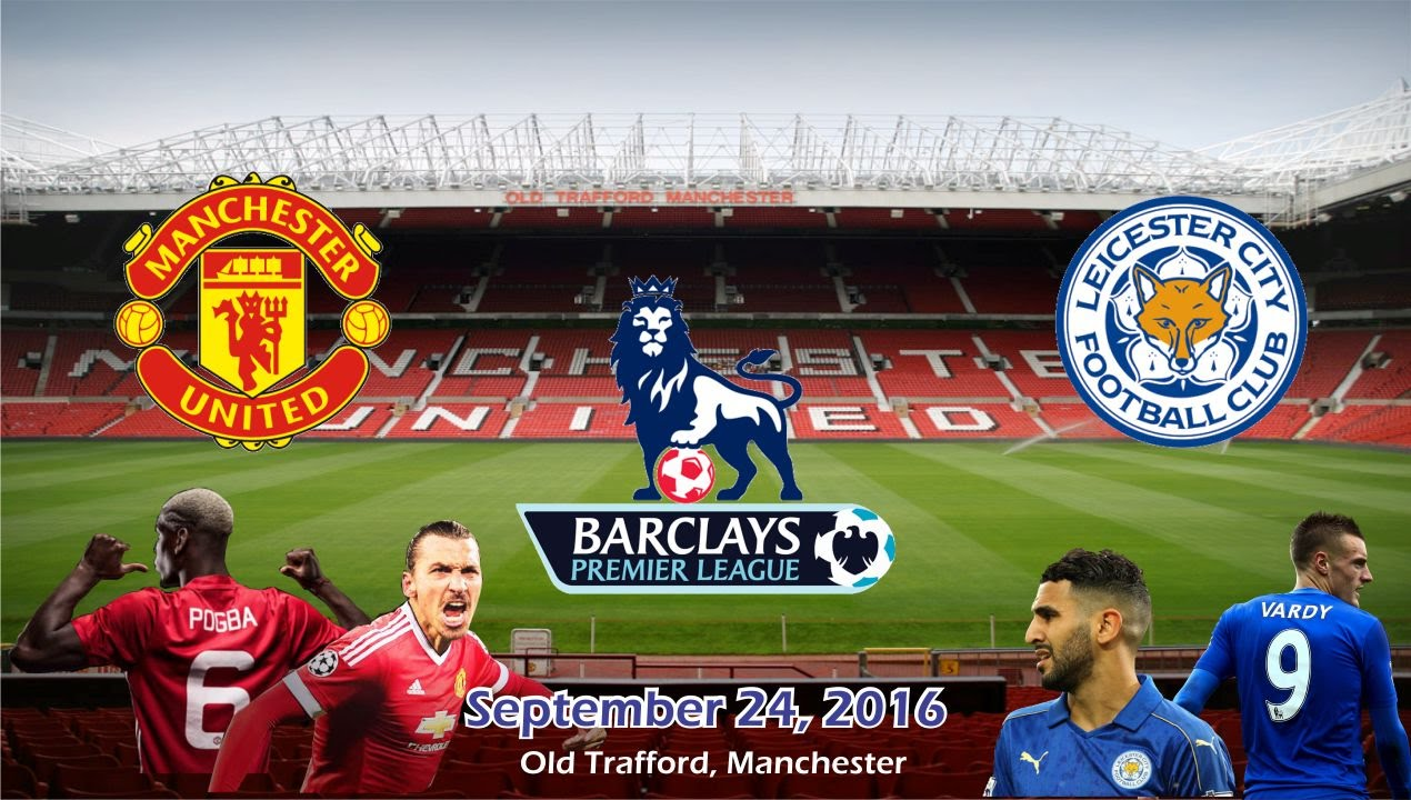 Manchester United vs Leicester City 4-1 All Goals & Highlights ...