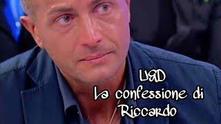 """U&D:Riccardo finalmente svela il suo """"blocco intimo""""."""