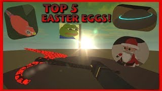 Top 5 Coolest Easter Eggs In Phantom Forces! (ROBLOX)