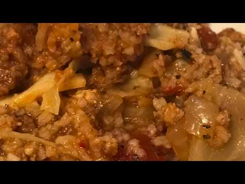 Instant Pot Cabbage Casserole