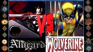 Alucard (Hellsing Ultimate) vs Wolverine (Marvel Comics) - Ultimate Mugen Fight 2015
