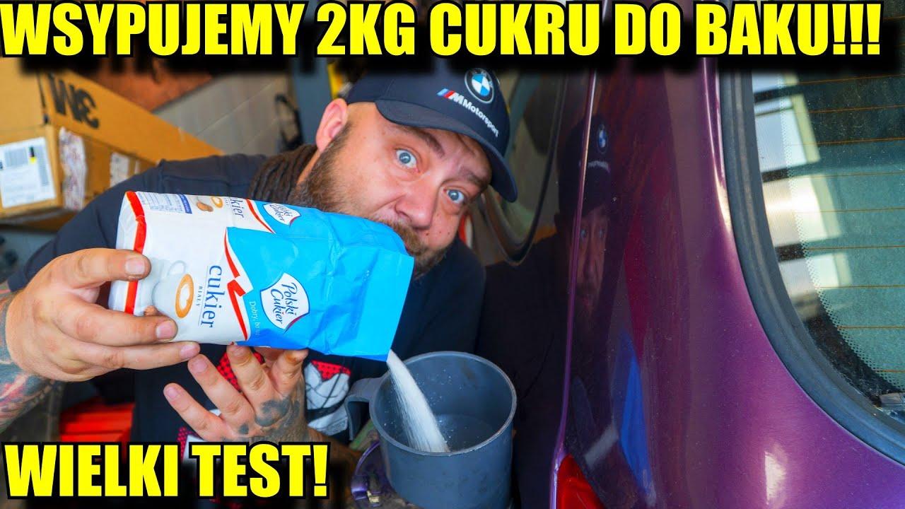 WSYPALIŚMY 2KG CUKRU DO BAKU!!! TEST