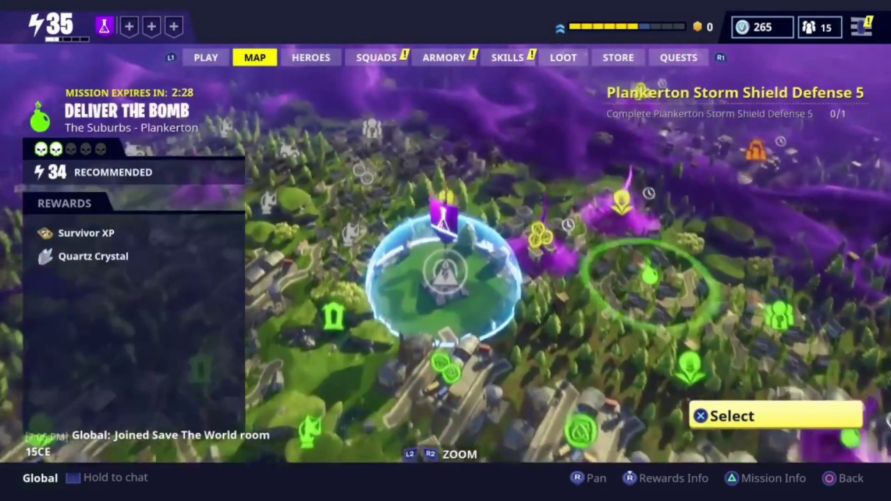 Fortnite : Where to find most Crafting Materials (Mechanical