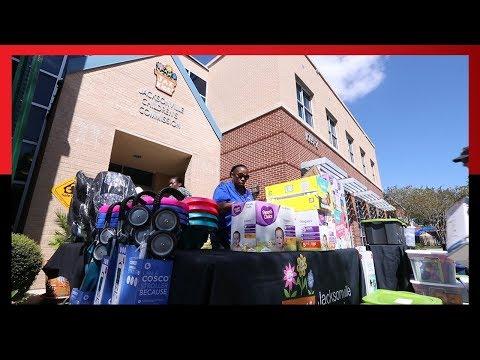 Hurricane Irma: Emergency Supplies Delivered to Children in Jacksonville