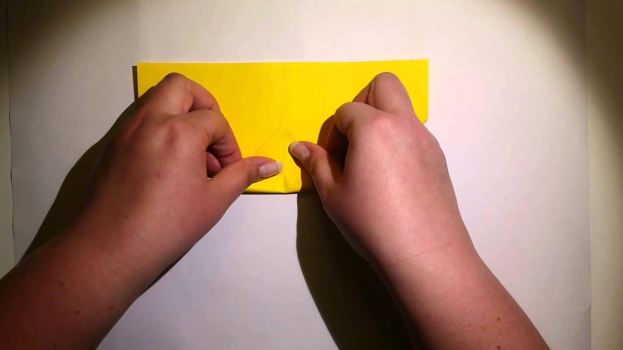 Origami Bilderrahmen Anleitung (Mittel).mp4 - YouTube