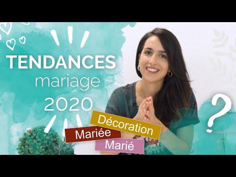 TENDANCE MARIAGE 2020 ! Robe De MARIÉE 👰 Décoration ✨ Costume De MARIÉ 🤵