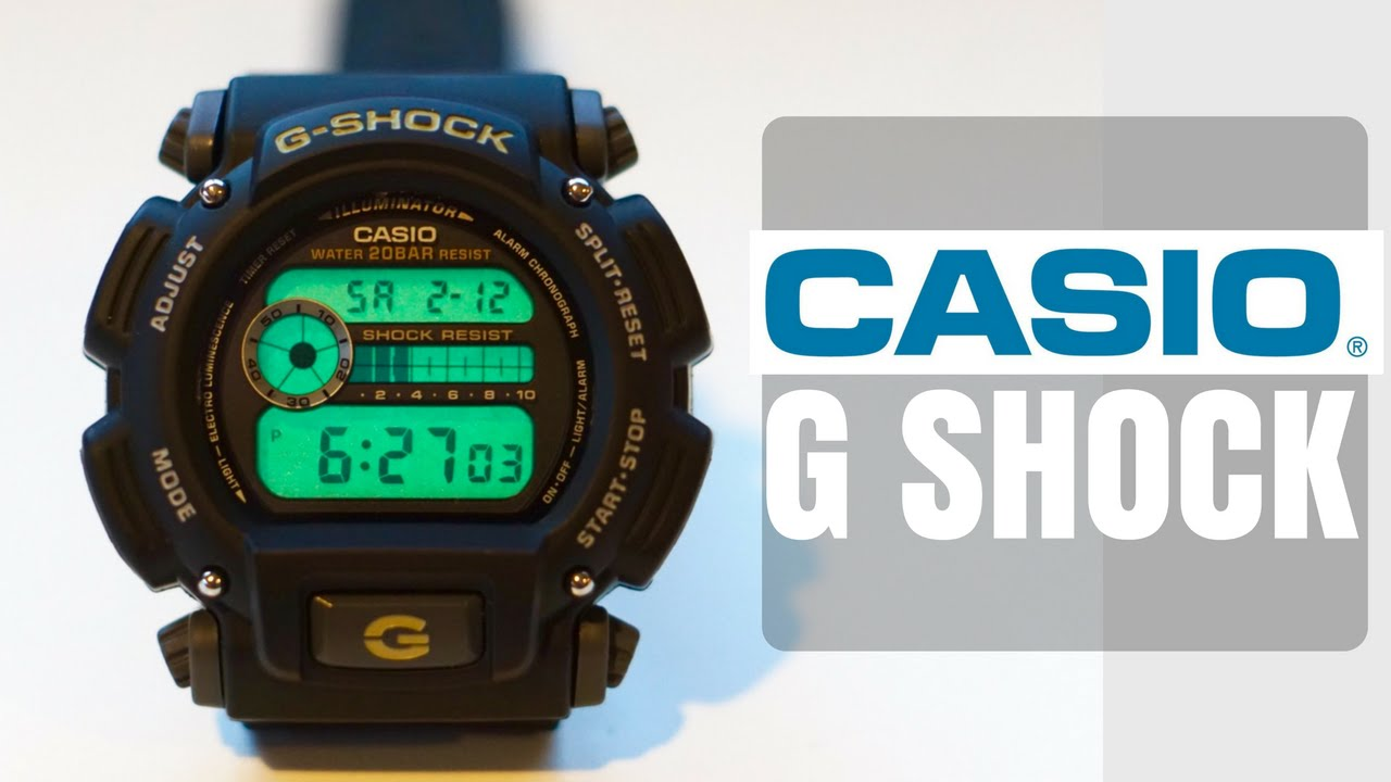 798eb164d Casio G-Shock DW9052-1V Overview - YouTube