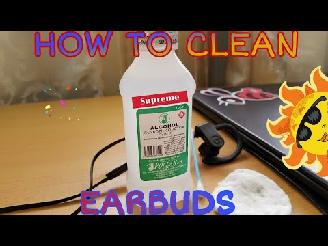 HOW TO CLEAN POWERBEATS 3 OR ANY KIND OF EARBUDS IN AN EASY WAY