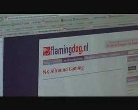 Flaming Dog Website Preview