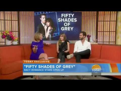 Fifty Shades Is Nearly Here! But Are Jamie & Dakota The Most Awkward Co-Stars Ever?