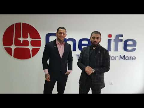 Mansour Tawafi with Konstantian Ignotova at Onecoin Head Office Bulgaria |2018|
