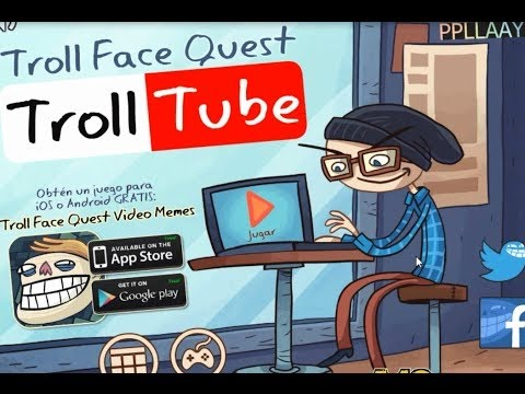 Baby Games For Kids - Trollface Quest Troll Tube