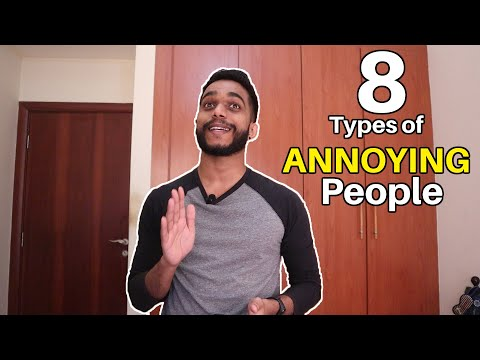 Top 8 Most Annoying People | Types of Annoying People | TMH Entertainment