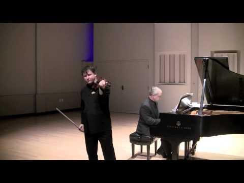 Ravel: Sonata (Wolfgang David, violin)