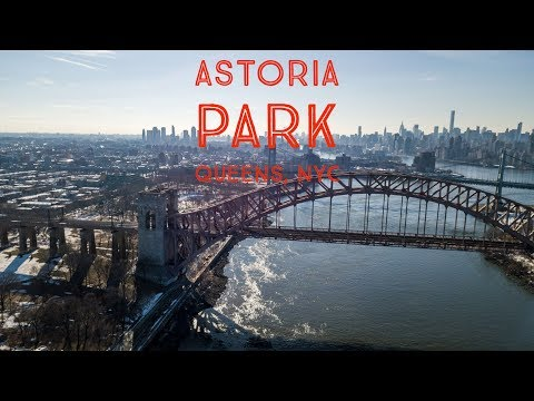 Astoria Park - 4k UHD - Queens New York City