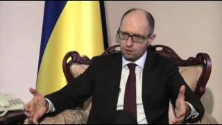 Ukraine PM: Crimea Situation Resembles