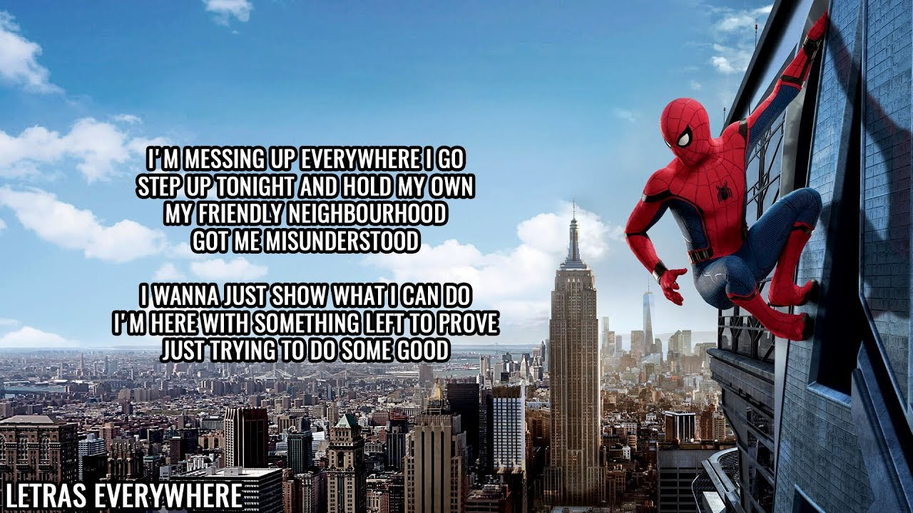 Nerd Out Spiderman Homecoming Song Head In The Clouds