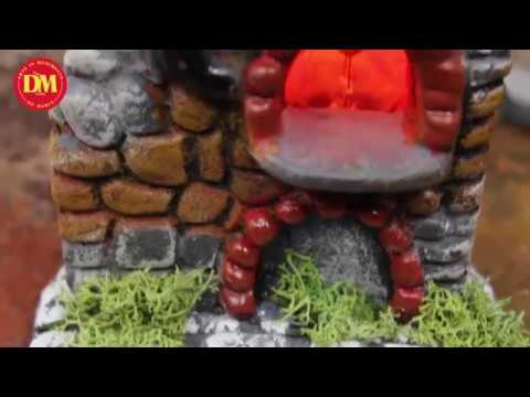 Forno in terracotta per presepe napoletano artigianale from YouTube · Duration:  17 seconds