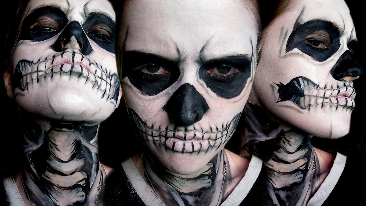 American Horror Story Skull Face Paint