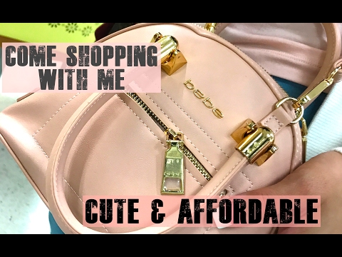 Come Along Shopping with Me - Cute Non-Luxury Handbags | idylle VLOGS
