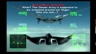 "Ace Combat 5 Walkthrough Mission 24 ""White Bird: Part II"""