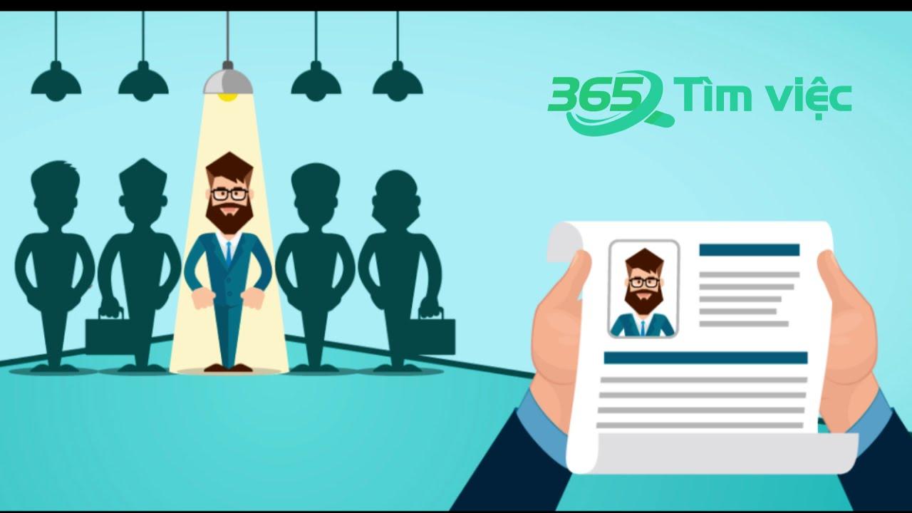 Hướng dẫn Tạo cv online trên timviec365 vn – Cv xin việc – Topcv đẹp miễn phí