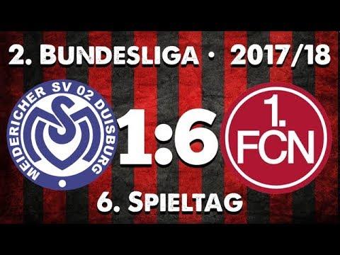 6. Spieltag • MSV Duisburg : 1.FC Nürnberg