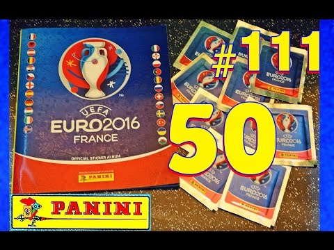 PANINI UEFA FRANCE EURO 2016 50 new Sticker PANINI Frankreich OFFICIAL video Lucky Bag ALBUM EM #111