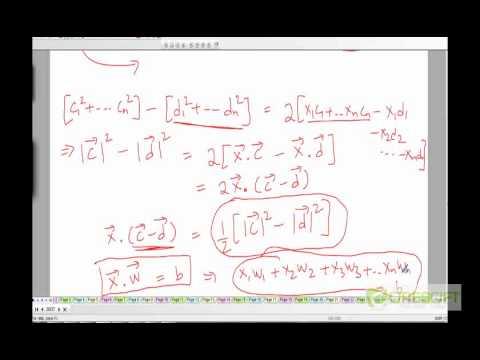 WDM 124: Proof of Rocchio's Algorithm as linear classifier