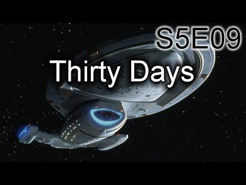 Star Trek Voyager Ruminations S5E09: Thirty Days