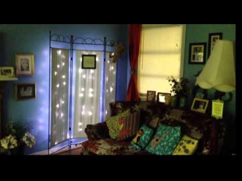 Room Divider Twinkle Lights
