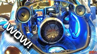 Amazing Fiberglass Car Audio Installations w/ Beautiful Looking CUSTOM Show Cars & BASS Installs