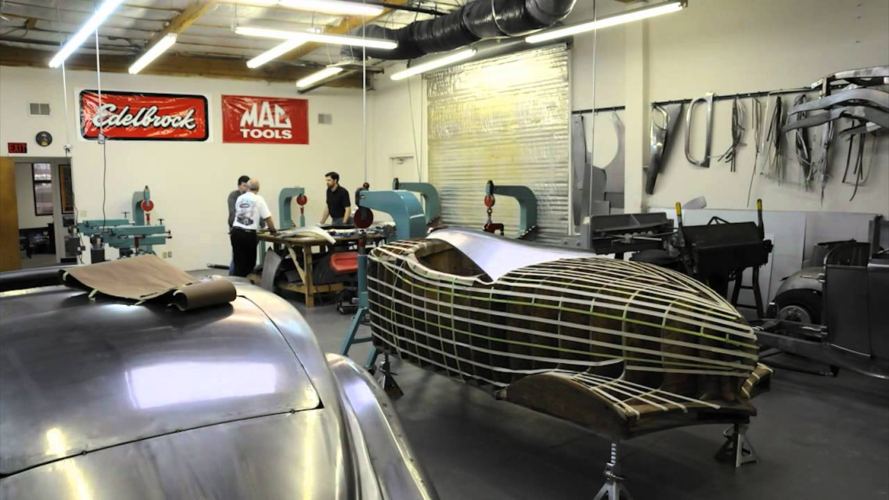 Lazze Metal Shaping 1932 Auburn Boat Tail Speedster Body