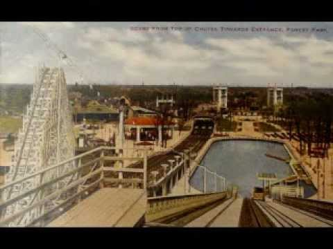 Forest Park Amusement Park In Turn of The Century Harlem Il.