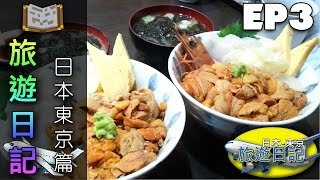 vlog 旅遊日記 日本東京篇 03 魚生萬歲