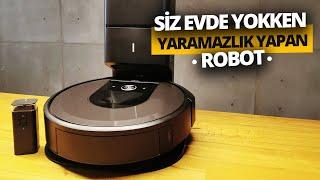 Evi temizleyen minik yaramaz iRobot Roomba i7+ inceleme!