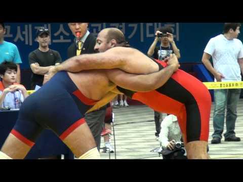 Greco-Roman Wrestling - 120kg India vs. Russia - PIN