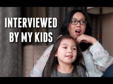 Interviewed By My Kids! -  ItsJudysLife Vlogs thumbnail