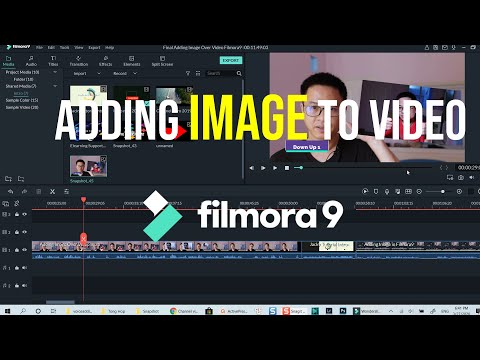 How To Add Image to Video - Filmora 9 Effects